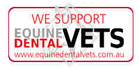 We support  www.EquineDentalVets.com.au