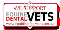 We support  www.EquineDentalVets.com.au